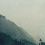 56cmx27cm, fusain et mine de plomb sur carton, 1997