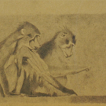 25cmx11cm, mine de plomb sur carton, 1998