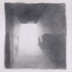 50cmX50cm , fusain et mine de plomb sur papier, 2004