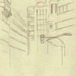 Madrid Plaza Callao, 14cmx9cm, VII 2004