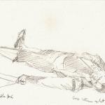 d'après Manet, 23,8cmX15, 6 cm, 2003