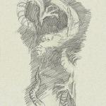 d'après Hokusai, 15,5cmX23cm, 31 VII 2008