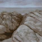 50cmx50cm, huile sur toile, 2013