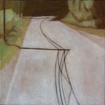 Arbres de Fonvert, 20cmx20cm, huile sur toile, 2015