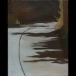 Arbres de Fonvert, 24cmx19cm, huile sur toile, 2015