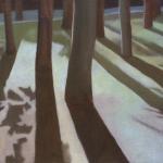 Arbres de Fonvert, 40cmx30cm, huile sur toile, 2015